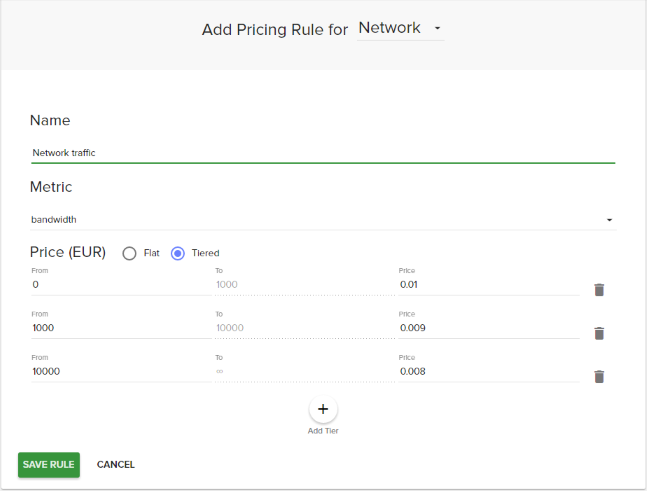 network-pricing